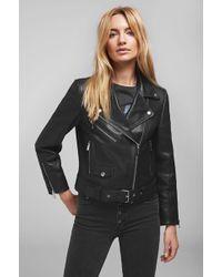 Anine Bing - Jett Leather Jacket - Black - Lyst