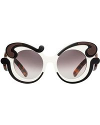 e7d4ab4d1a1 Lyst - Prada Baroque - Women s Prada Baroque Sunglasses