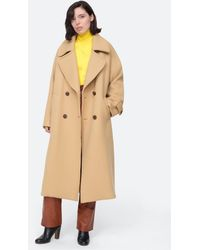 Sea Amber Coat - Natural