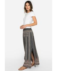 Johnny Was - Calida Side Slit Maxi Skirt - Lyst