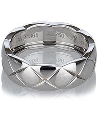 Chanel - Matelasse Ring - Lyst