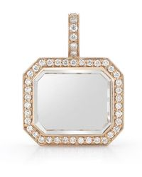 WALTERS FAITH - Bell 18k, Diamond And Rock Crystal Charm - Lyst