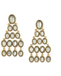 Rachel Zoe - Alma Button Earring - Lyst