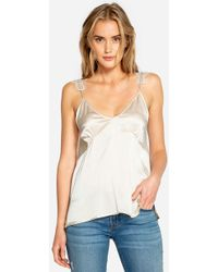 Johnny Was - Michelle Charmeuse Cami - Lyst