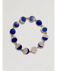 Pamela Love - Inlay Moon Phase Bracelet - Lyst