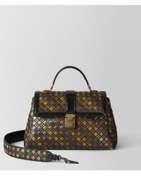 e342be2f72 Bottega Veneta - Multicolor Intrecciato Stained Glass Piazza Bag - Lyst