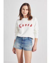 Current/Elliott - The Pocket Sweatshirt - Lyst