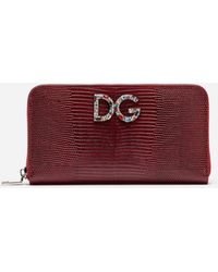 Dolce & Gabbana - Zip-around Wallet - Lyst