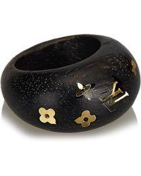 Louis Vuitton - Wood Silvania Ring - Lyst