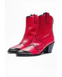 Zadig & Voltaire - Cara Plus Keith Boots - Lyst