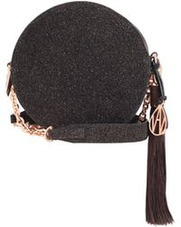 Amanda Wakeley - Cocoa Crystal Round Shoulder Bag - Lyst
