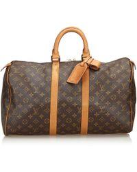 Louis Vuitton - Monogram Keepall 45 - Lyst
