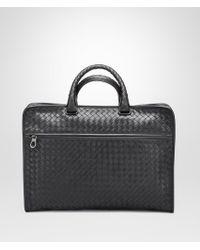Bottega Veneta - Moro Intrecciato Calf Briefcase - Lyst