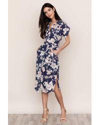 a654729a8e Karen Millen Dress - Signature Stretch Oriental Print - Lyst