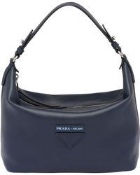 a84c2c88f05f Prada Concept Shoulder Bag in Brown - Lyst