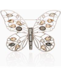 2a553a614 St. John - Swarovski Crystal Pin - Lyst