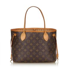 Louis Vuitton - Monogram Neverfull Pm - Lyst