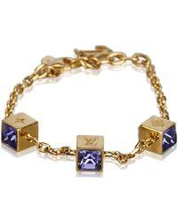 Louis Vuitton - Gamble Crystal Bracelet - Lyst