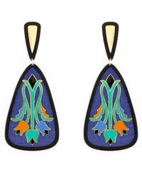 Anna E Alex - Tulip Deco Earrings - Lyst