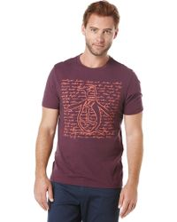 Original Penguin - Pete Cities T-shirt - Lyst