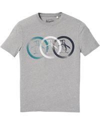 Original Penguin | Treble Circle Logo T-shirt | Lyst