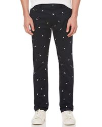 Original Penguin - Slim Fit Lemon Embroidered Chino - Lyst