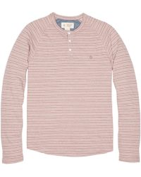 Original Penguin - Striped Terry Henley - Lyst