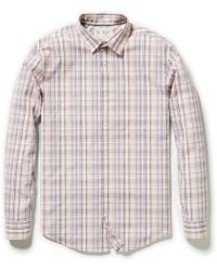 8dfe63eeb Amazon Prime · Original Penguin - Classic Fit Uneven Plaid Shirt - Lyst