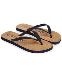 Orlebar Brown - Haston Cork Flip Flop - Lyst