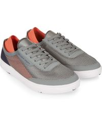 Orlebar Brown - LARSON Pewter/Hot Coral Shoe You Can Swim In - Lyst