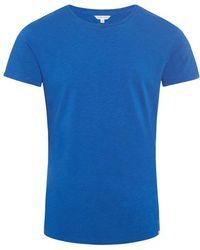 Orlebar Brown - Ob-t T-shirt Mit Rundhalsausschnitt Und Körperbetonter Passform Dark Butterfly - Lyst