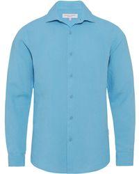 Orlebar Brown - Meden Bright Riviera Classic-fit Shirt - Lyst