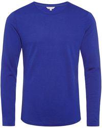 Orlebar Brown - Ob-t Merino Mazanine Tailored-fit Crew Neck T-shirt - Lyst