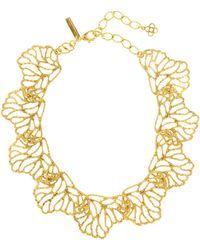 Oscar de la Renta - Coral Branch Necklace - Lyst