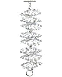 Oscar de la Renta - Crystal Fan Bracelet - Lyst