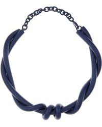 Oscar de la Renta - Pacific Twisted Rope Necklace - Lyst