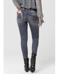 Le Temps Des Cerises - Skinny-fit-Jeans »POWER3« mit besonderer 3-Faser-Technology - Lyst
