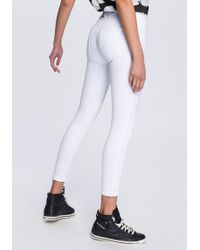 DIESEL - Slim-fit-Jeans »Slandy« mit stilvollen Markendetails - Lyst