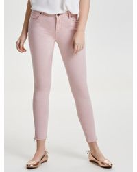 ONLY - Serena Reg Ankle Skinny Fit Jeans - Lyst