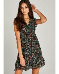 Apricot - Druckkleid »Folk Floral Ditsy Dress« im Lagenlook - Lyst