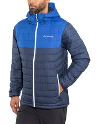 9fd58859ec Columbia - Outdoorjacke »Powder Lite Hooded Jacket Men« - Lyst