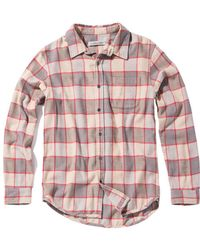 Outerknown - Plano Plaid Shirt - Final Sale - Lyst