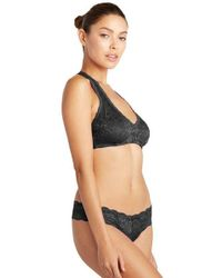 Cosabella - Never Say Never Cutie Lace Thong Black - Lyst