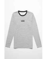 41f83e44d5 Lyst - Vans Drop V Long Sleeve T-shirt in White for Men