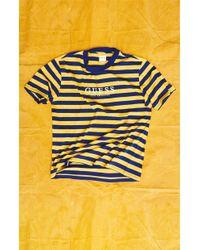 Guess - Stream Stripe T-shirt - Lyst
