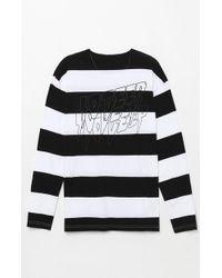 10.deep - Sound And Fury Stripe T-shirt - Lyst