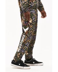 Converse - Printed Colorblock Track Pants - Lyst