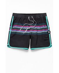 d22f5e074d Hurley Phantom Freddy Volley Swim Trunks in Blue for Men - Lyst