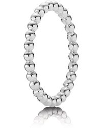 PANDORA - Bubble Stacking Ring - Lyst