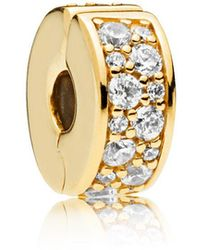 PANDORA - Shining Elegance Clip - Lyst